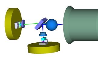 2-port Sende-/Empfangskomponente der optischen Nachrichtentechnik